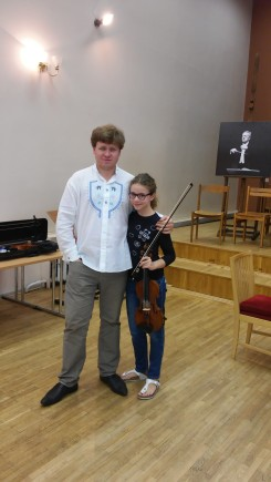 with Mr. Andrey Baranov