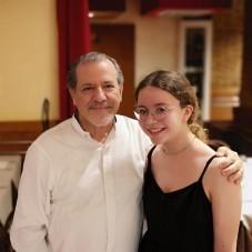 with Maestro Aurelio Iacolenna